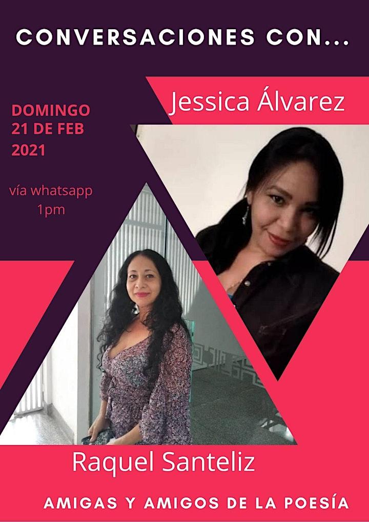 Imagen de Conversaciones con...las poetas Raquel Santeliz y Jessica Álvarez