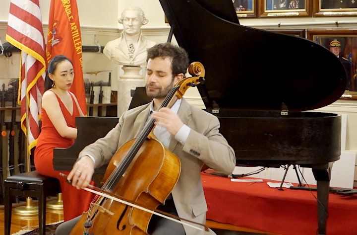 FORBIDDEN FRUIT: Cello and Piano Concert from Faneuil Hall image