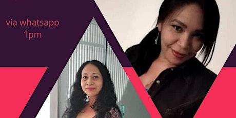 Conversaciones con...las poetas Raquel Santeliz y Jessica Álvarez entradas