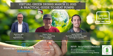 Virtual Green Drinks March - A Practical Guide to Heat Pumps tickets
