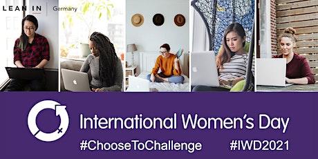 Internationaler Frauentag - International Women's Day 2021 - DEUTSCH billets