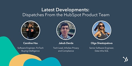 *HubSpot Webinar* Latest Developments: Dispatches from our Product Team tickets