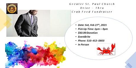 Greater St. Paul Church  Drive-Thru Crab Fundraiser tickets