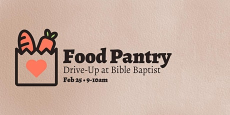 Food Pantry Drive-Up tickets