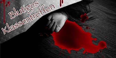 """Schnüffel-Kriminalfall """"Blutiges Klassentreffen"""" am 29.05.2021 Tickets"""