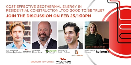 Geothermal Energy Webinar and Panel Discussion tickets