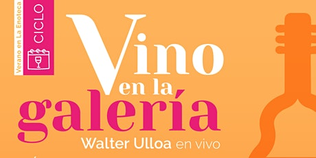 Ciclo VINO EN LA GALERÍA (03-03) entradas