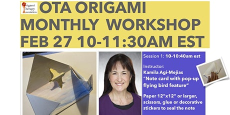 Origami Therapy Association Workshop tickets