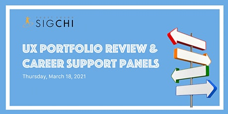 UX Portfolio Review & Career Support Panels tickets