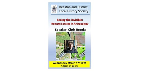 Seeing the invisible: Remote Sensing in Archaeology'. tickets
