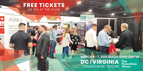 Free Admission: The Franchise Expo – Washington D.C & Virginia tickets
