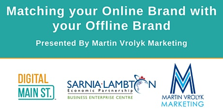 Matching your Online Brand with your Offline Brand tickets