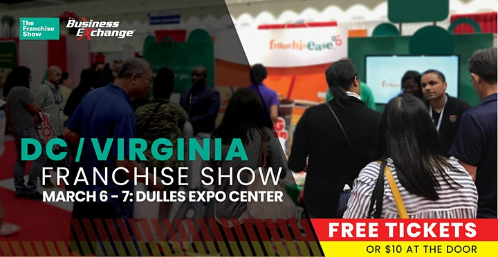 Free Tickets: The Franchise Show – Washington D.C & Virginia image
