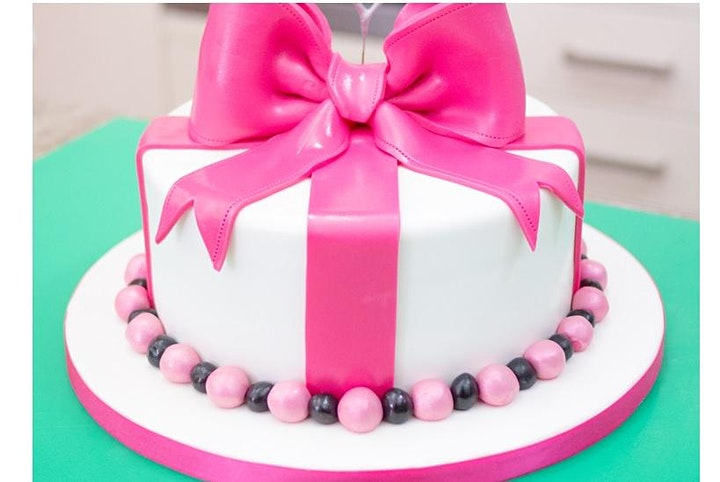 Cake Decoration Beginners - Starter Class -  Covering Rounds image