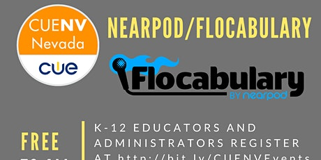 Nearpod/Flocabulary CUE-Nevada Series tickets