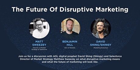 The Future of Disruptive Marketing tickets