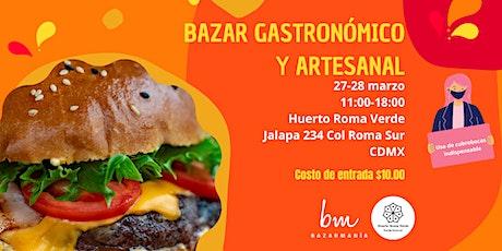 Bazar Gastronómico y Artesanal entradas