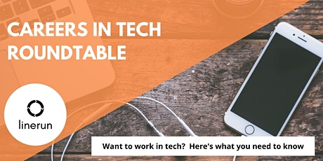 Careers in Tech Roundtable   Finding Tech Jobs & Building Tech Careers tickets