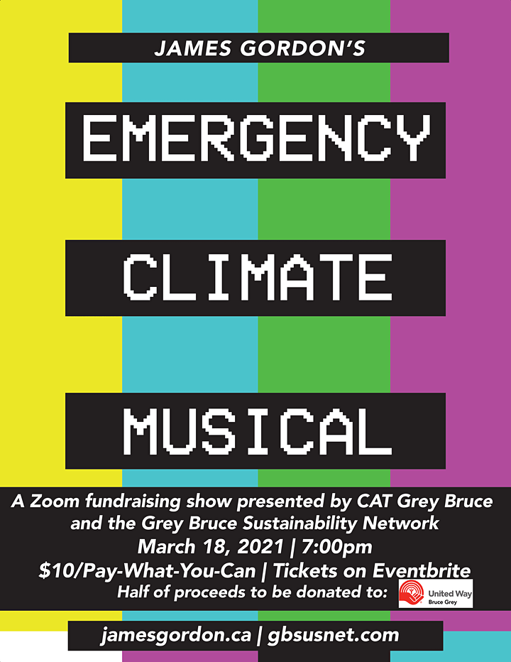 James Gordon's Emergency Climate Musical - Owen Sound image