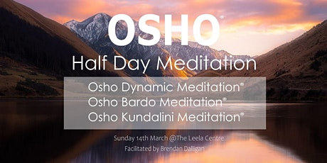 Osho Half Day Meditation tickets