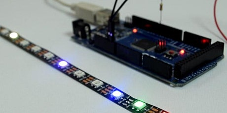Electronics Workshop 2 - Using Coloured LED Strip with your Arduino tickets