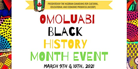 3rd Annual Omoluabi Black History Month tickets