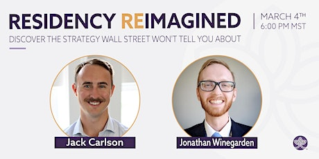 Residency Reimagined  | What Wall Street Won't Tell You tickets