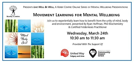 Movement Learning For Mental Wellbeing tickets