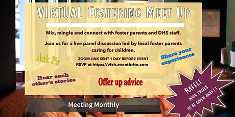 Virtual Fostering Meet Up tickets