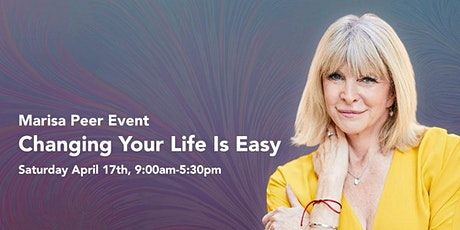 Changing Your Life is Easy With Marisa Peer tickets