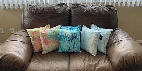 Create Silk Pillow Cushion Cover, SIP & DIP Workshop- VOLCANIC HILLS WINERY tickets