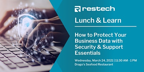 How to Protect Your Business Data with Security & Support Essentials tickets