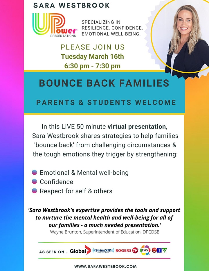 BOUNCE BACK FAMILIES image