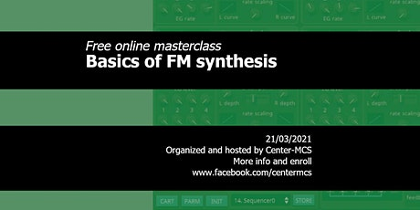 Free online masterclass basic FM synthesis tickets