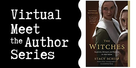 """Virtual Talk: """"The Witches"""" with Stacy Schiff tickets"""