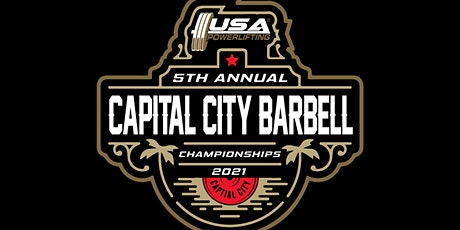 5th Annual USA Powerlifting Capital City Barbell Championships (FL-2021-12) tickets