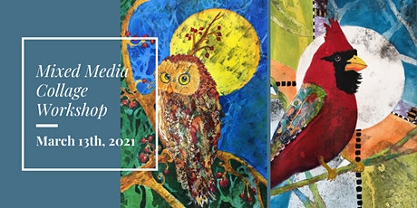 Mixed Media Collage Workshop tickets