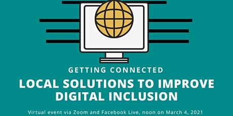 Getting Connected: Local solutions to improve digital inclusion tickets
