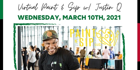 Art for the Soul - Virtual Paint & Sip with Justin Q tickets