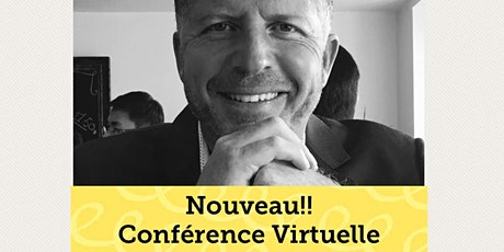Conférence virtuelle - Le Lâcher-prise, la confiance et l'estime 19.95$ billets
