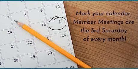 IVRPA Member Meeting tickets