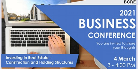 Investing in Real Estate - Construction and Holding Structures tickets
