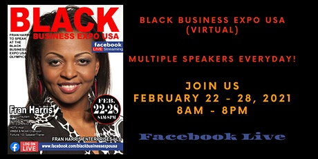 Black Business Expo USA (Virtual Event) tickets