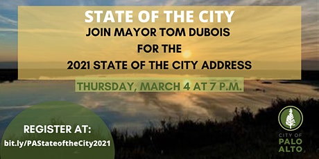 2021 State of the City Address with Mayor Tom DuBois tickets