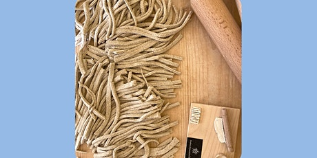 ONLINE Italian Buckwheat Pasta (vegan)- cooking class with Madebyflour tickets