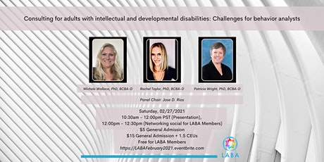 LABA Panel Presentation Event tickets