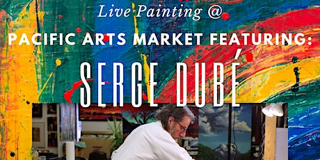 Live Painting at PAM with Serge Dubé tickets