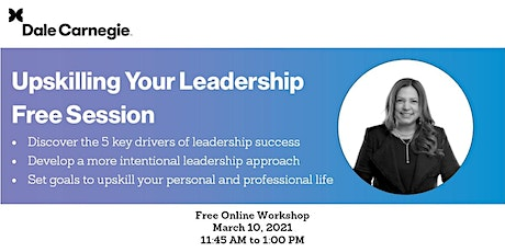 Upskilling Your Leadership Free Session tickets