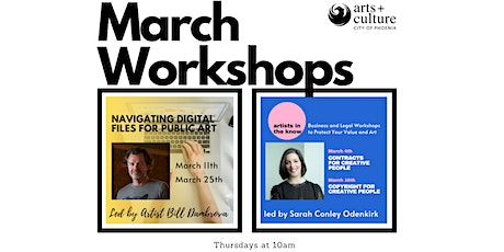 March Workshops - Back byPopular Demand tickets