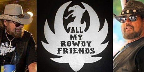 """""""All My Rowdy Friends"""" The Ultimate Hank Williams Jr.Tribute Show. tickets"""